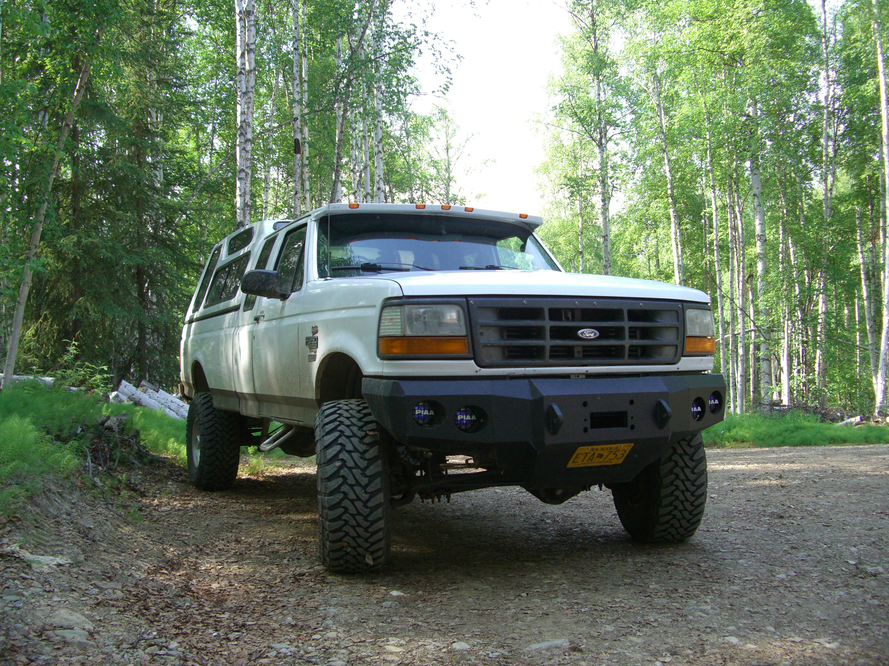 92 96 ford f250 front base bumper