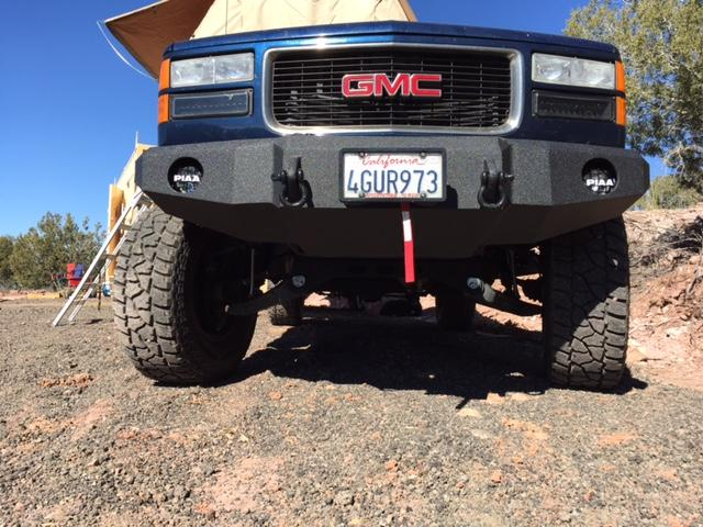 1998 gmc diesel bumper