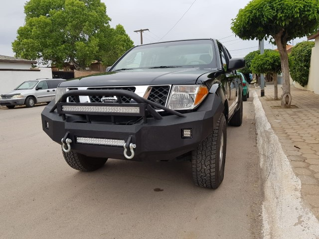 Nissan frontier 05 14 nissan frontier light bar aloadofball Image collections