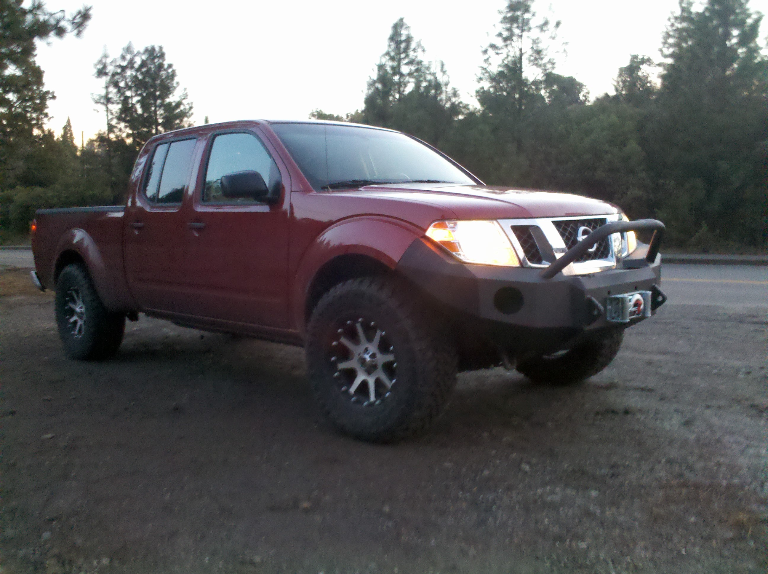 Nissan frontier 05 14 nissan frontier light bar aloadofball Choice Image