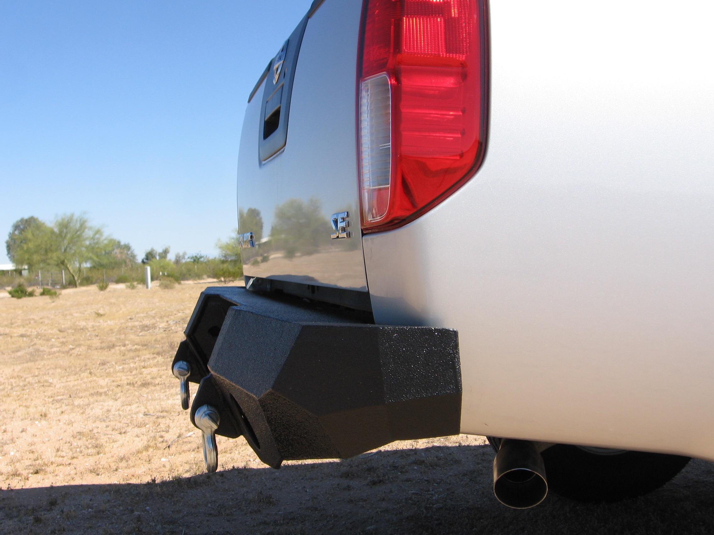 ... 05 14 Nissan Frontier Rear Base Bumper ...