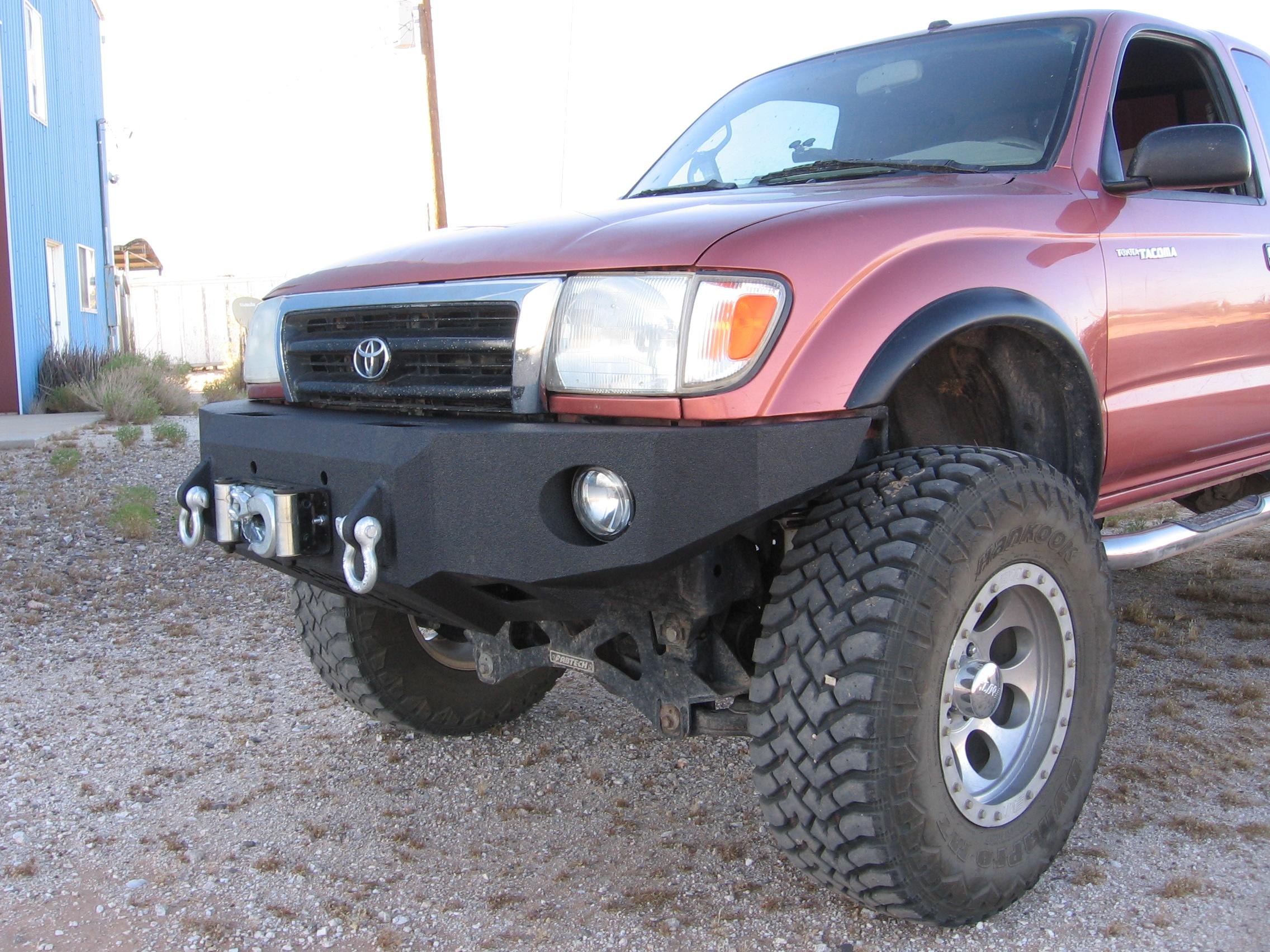 95 04 toyota tacoma front base bumper